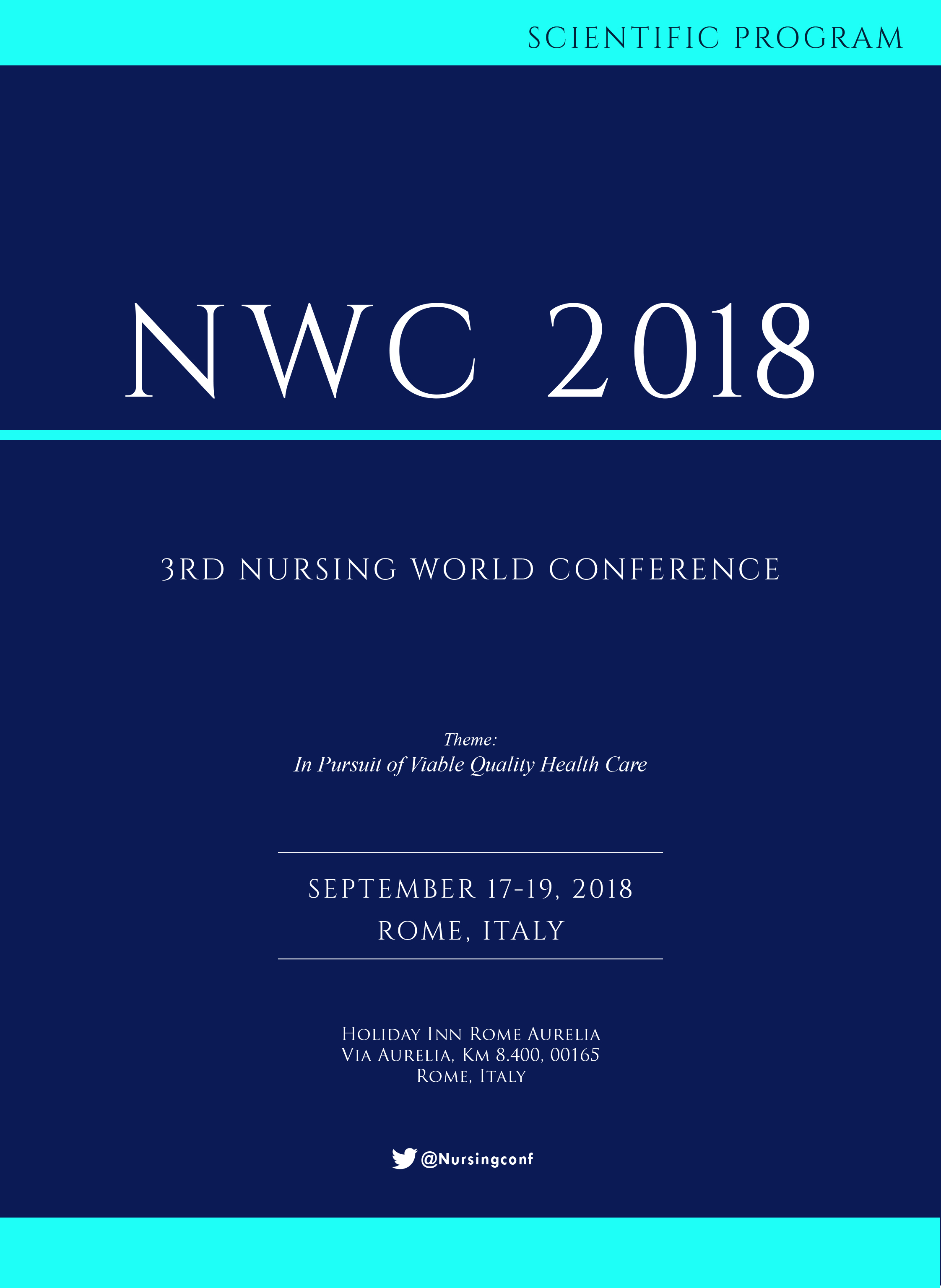 3rd Nursing World Conference | Rome, Italy Program