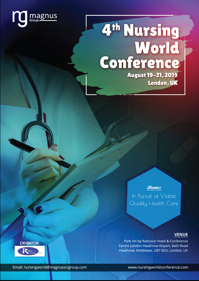 4th Nursing World Conference | London, UK Book